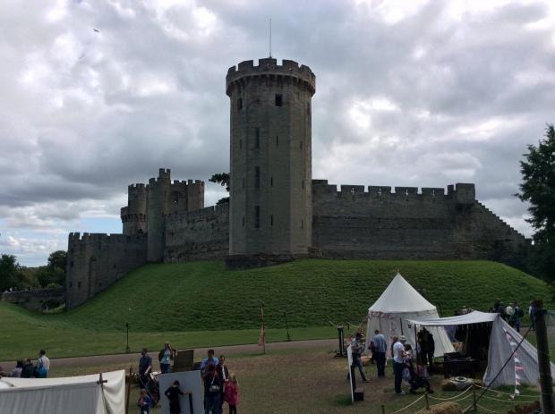 Castillo de Warwick, residencia de Richard Neville