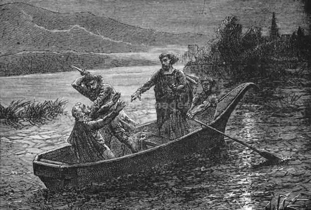 King John murders Arthur I prince of Brittany